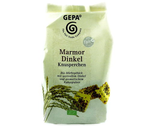 Marmor Dinkel Kekse BIO Fair Trade