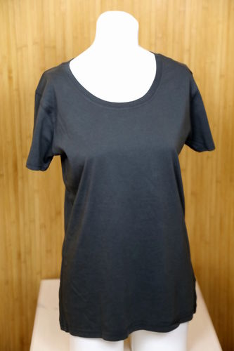 Damen T-Shirt Earth Positive BIO-BW grau Vintage - Fair Wear