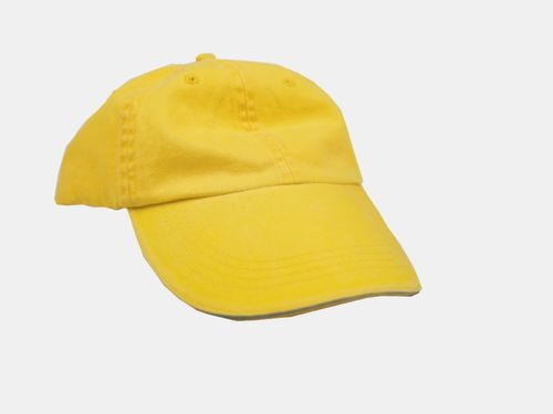 Unisex 6-Panel Cap Sunshine Gelb