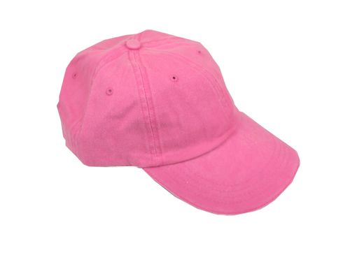 Unisex 6-Panel Cap Flamingo Pink
