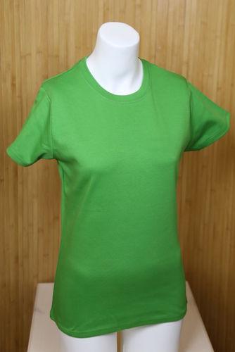 97488285112e6 rubycorn shop - Damen Basic T-Shirt grün Continental Fair Wear