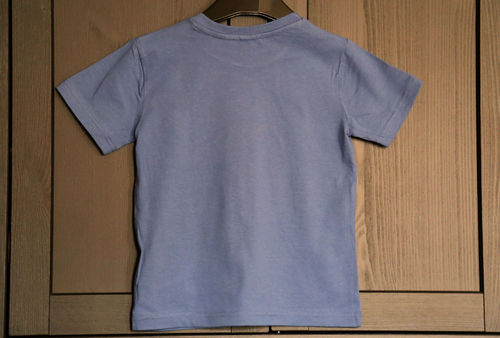 Kinder T-Shirt Denim Blau Bio-Baumwolle - Fair Wear