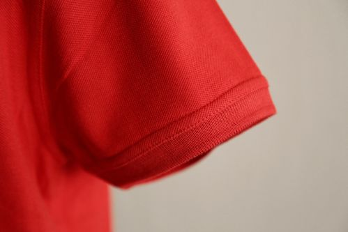 Damen Polo Shirt Baumwolle rot Neutral Fair Wear