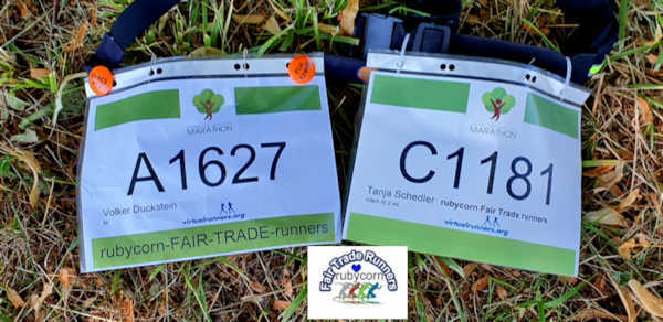 rubycorn Fair Trade runners - back to nature marathon 12.07.2020