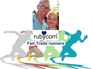 rubycorn FairTrade runners