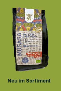 FairTrade Bio Kaffee Musasa - rubycorn shop